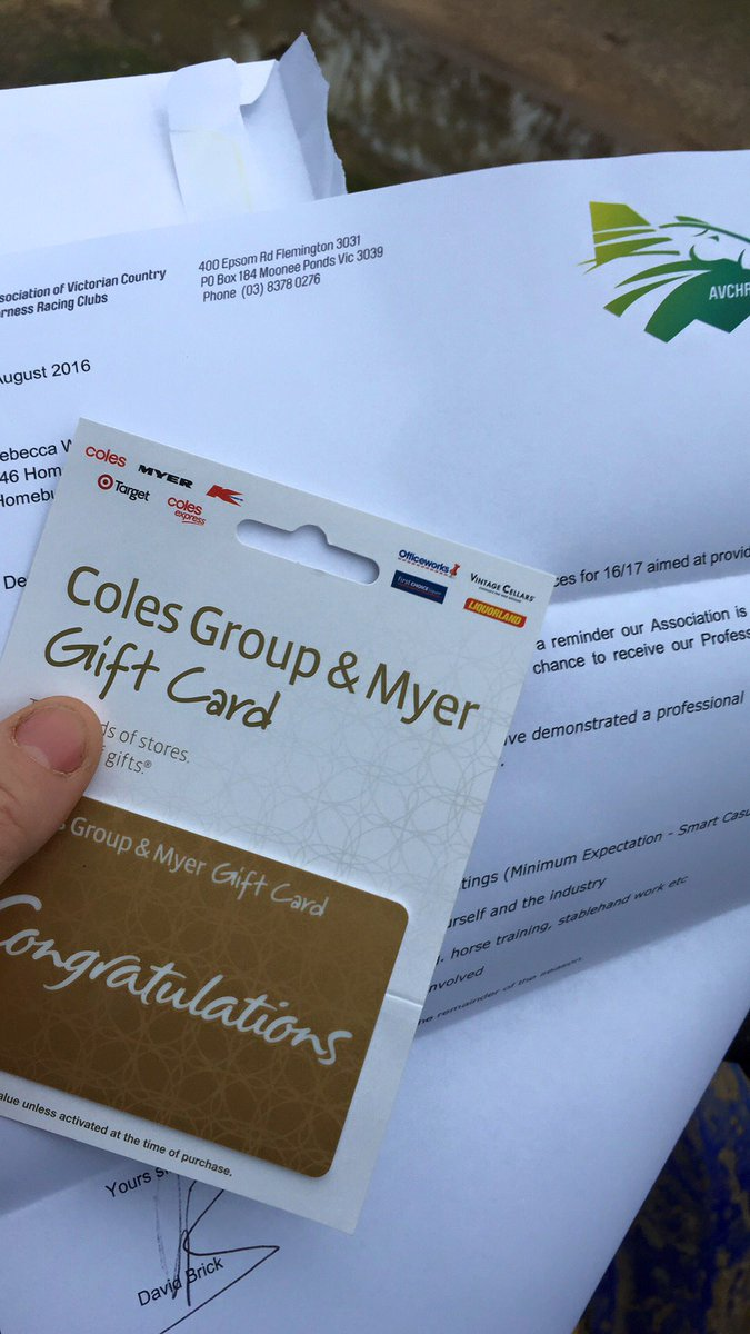 Coles Giftcard Balance Coles Group Myer Gift Card Gift Ideas