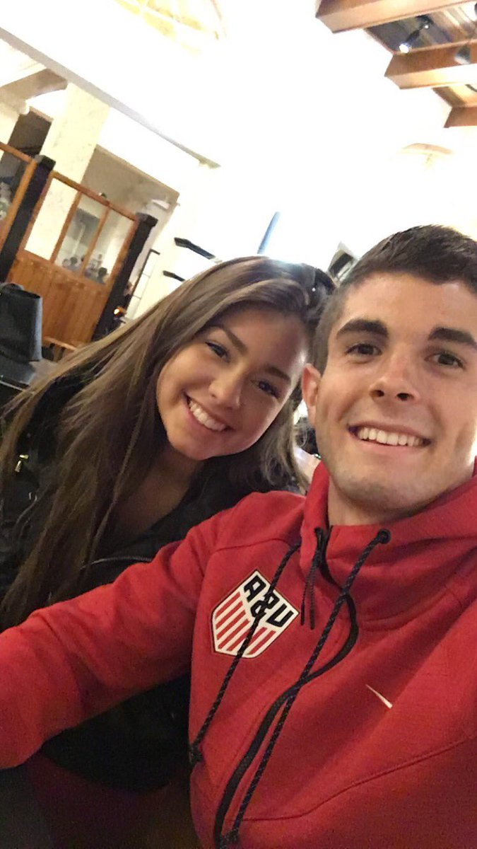 Wallpaper Happy Girl Media Tweets By Christian Pulisic Cpulisic 10 Twitter