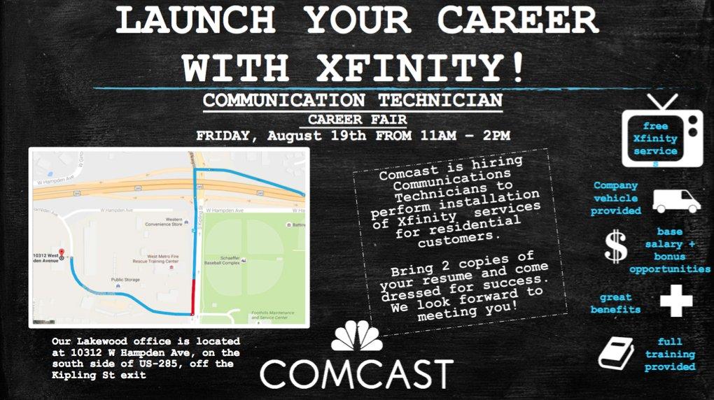 Comcast Careers on Twitter \