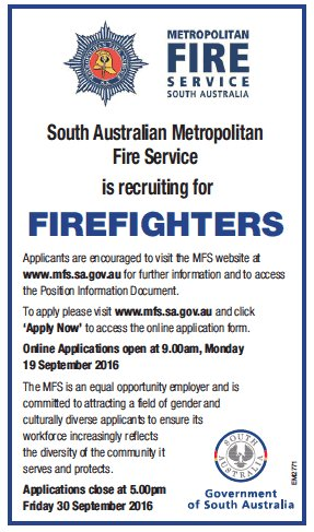 Country Fire Service on Twitter \ - fire service application form