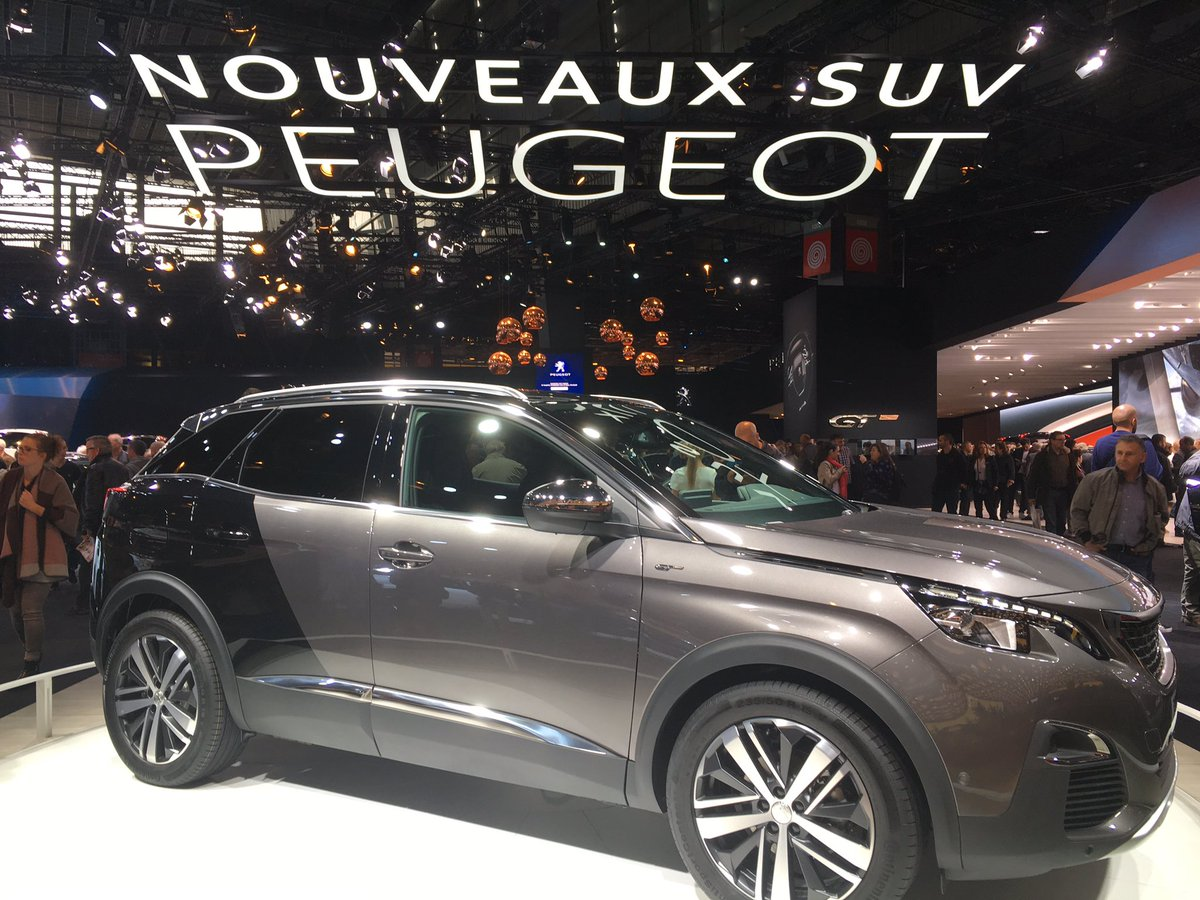 Garage Peugeot Mouscron New3008 Hashtag On Twitter