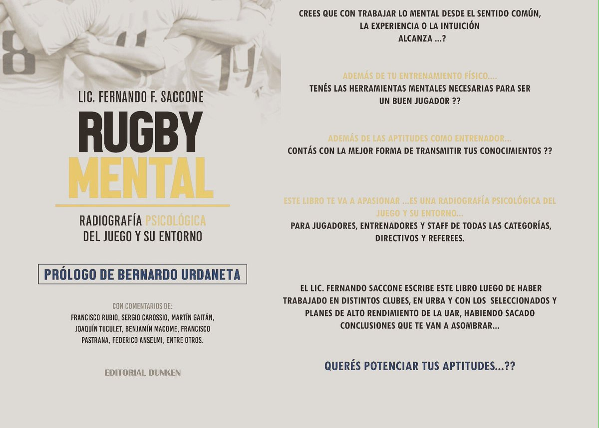 Libro Rugby Quijote Rugby Club On Twitter
