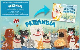 Enter our FreebieFriday with petlandiapost here: freebie competition win
