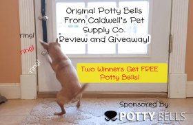 Win pottybells for your dog! freebie giveaway ilovedogs