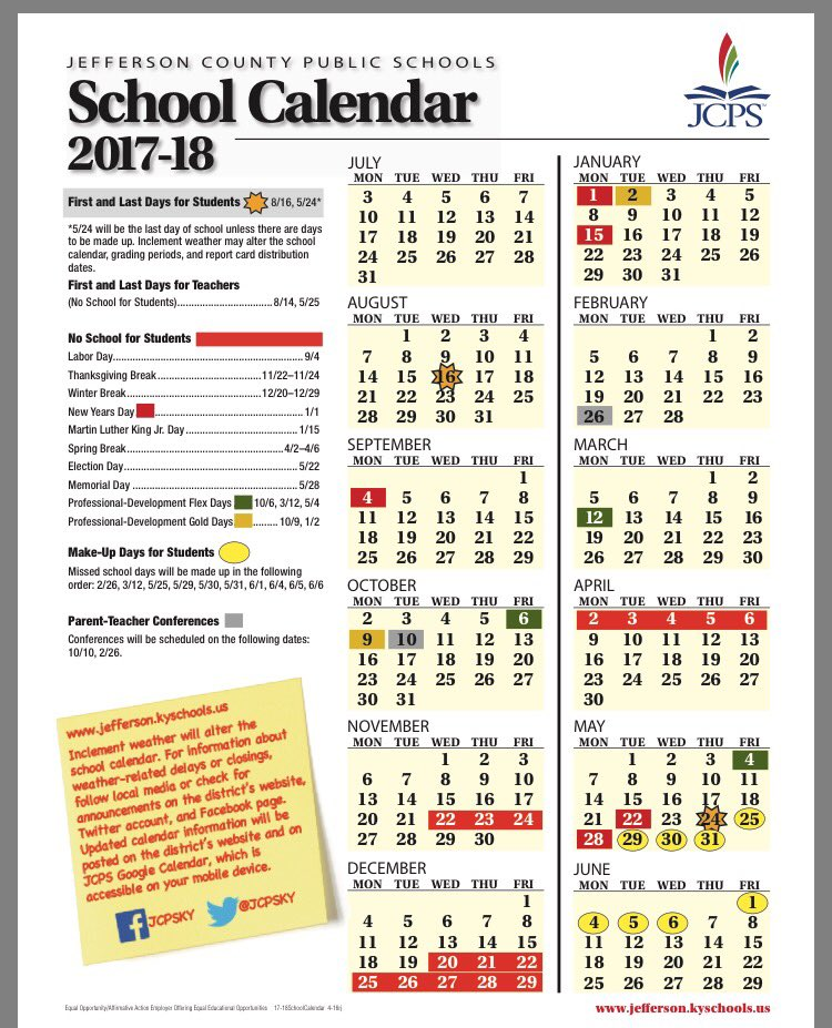 "Toni Konz Tatman on Twitter ""The JCPSKY 201718 calendar"