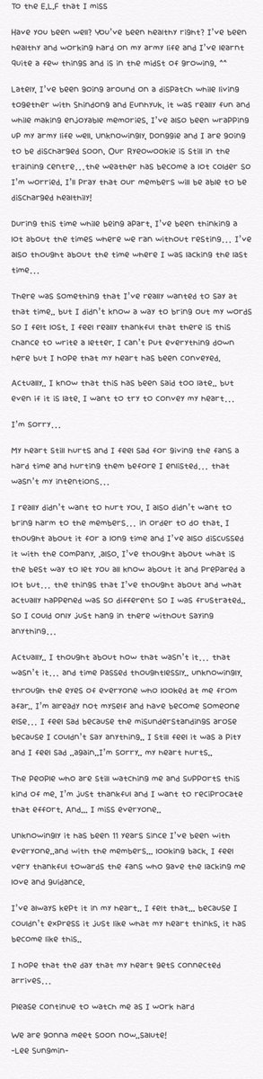 161106 Sungminu0027s 11th anniversary letter - how to write a paper