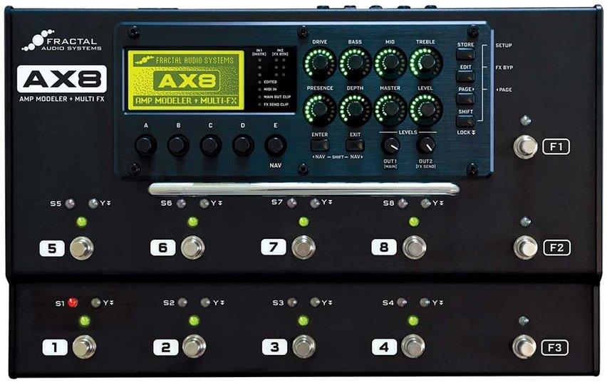 Fractal Audio Systems AX8 Amps u0027n Pedals Pinterest Fractal audio - p amp amp l template excel