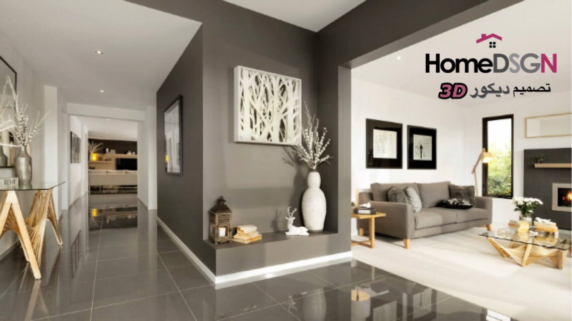 3d Wallpaper House Malaysia تصميم ديكور 3d On Twitter Quot تصميم صاله مفتوحه ديكور