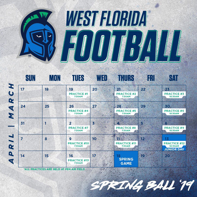 Social Media Posts for The University of West Florida (out-of-state)