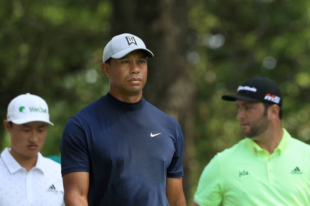 tiger woods masters wins scorecards