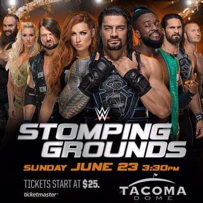 WWE Stomping Ground show announced with a huge main event