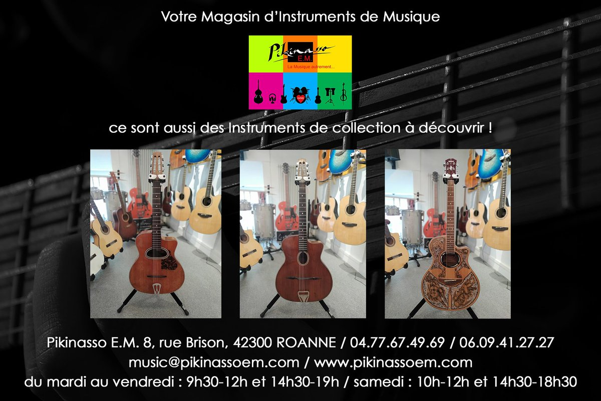 Magasin Musique Annecy Pikinasso E M London Miller Twitter