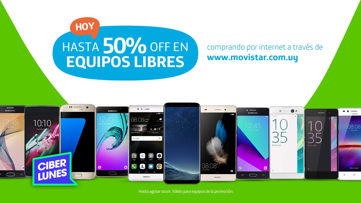 Movistar Smartphones Libres Movistar Uruguay On Twitter