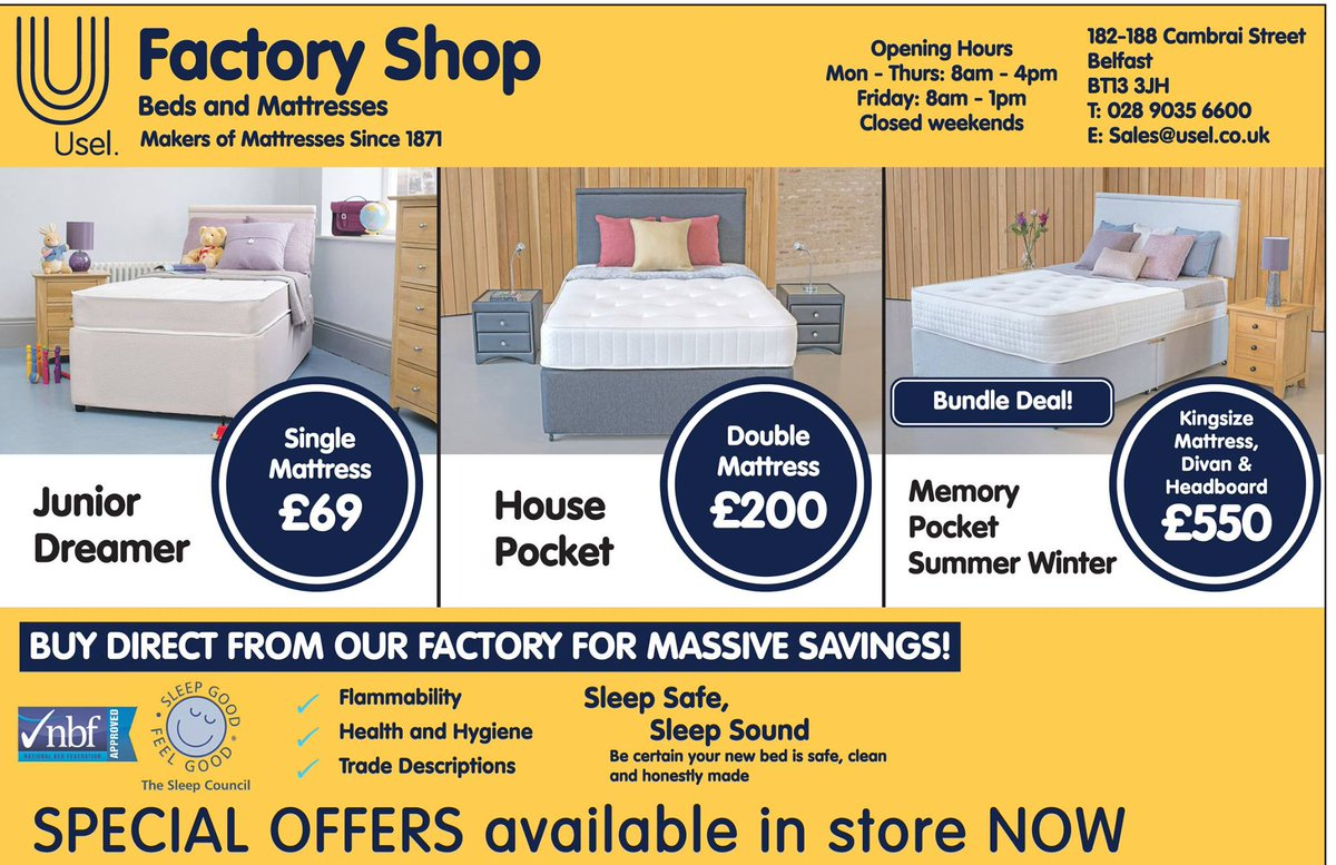 Mattress Factory Outlet Usel On Twitter