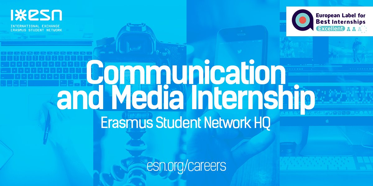 ESN International on Twitter \ - looking for an internship