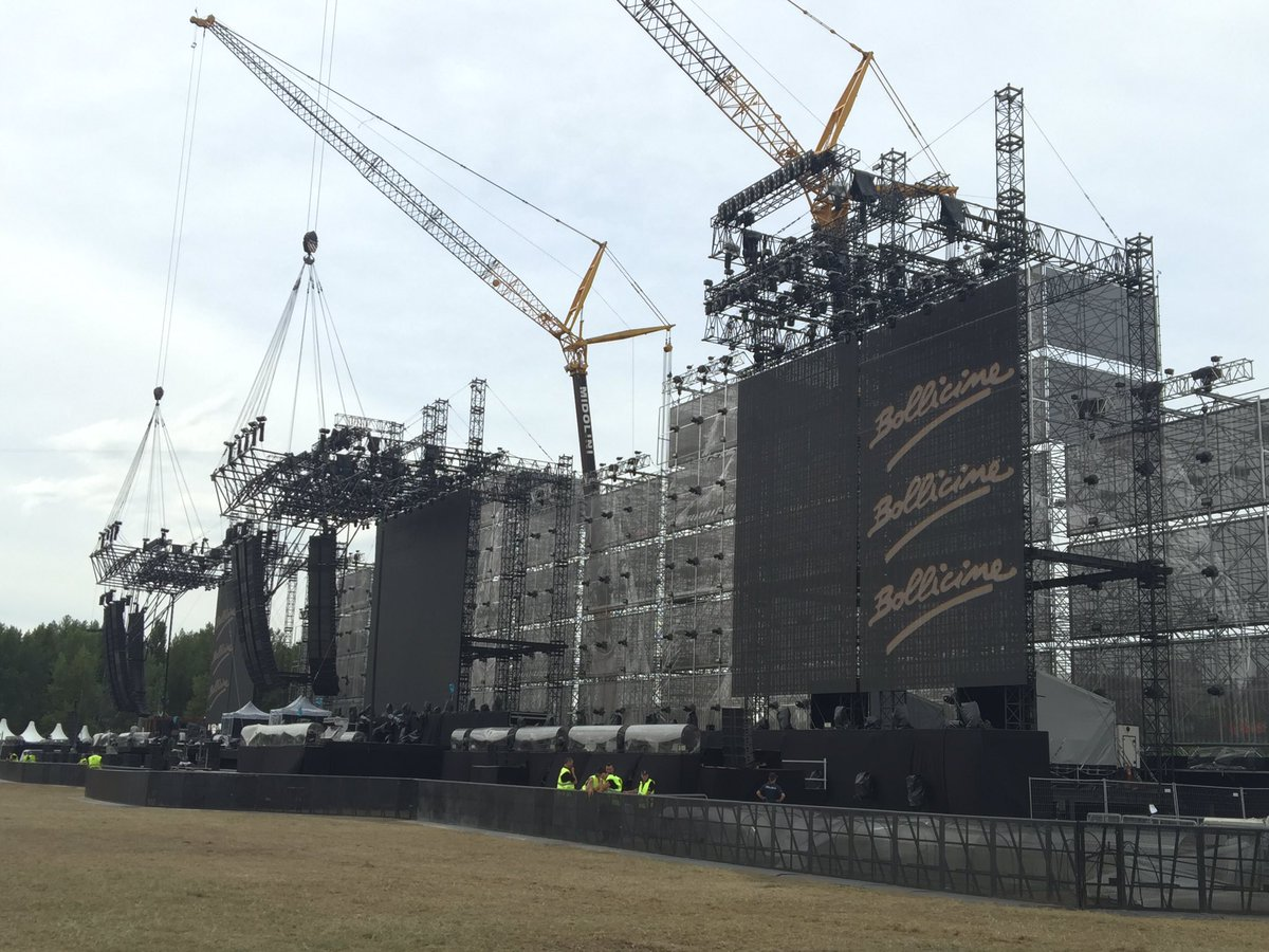 Palco Vasco Rossi Paolo Giordano On Twitter