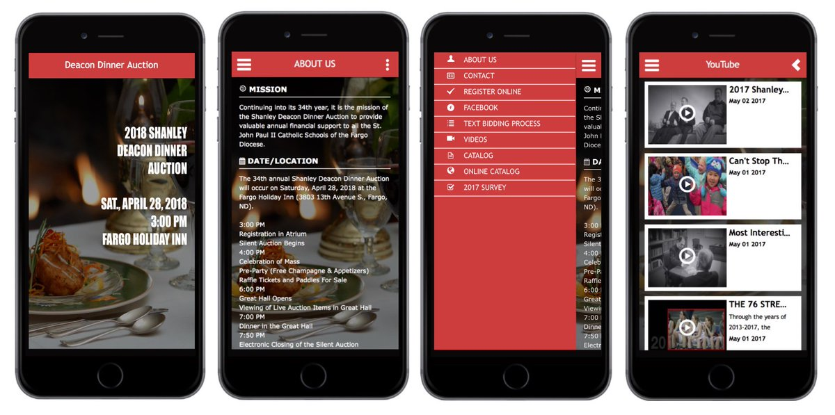 DEACON DINNER AUC (@DeacDinnAuc) Twitter - silent auction app free