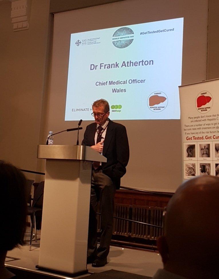 Dr Frank Atherton (@cmowales) TwitterChief Medical Officer Job