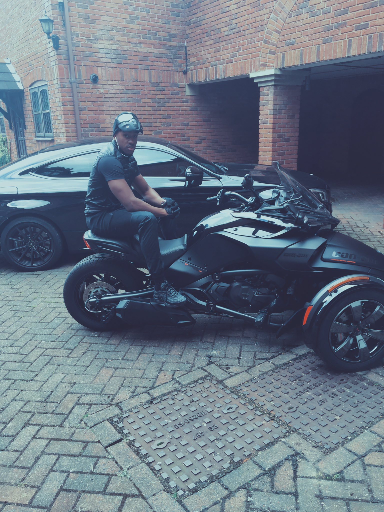 New Bike And Car Wallpaper Bugzy Malone On Twitter Quot Wearing The Triple Black 97 S In