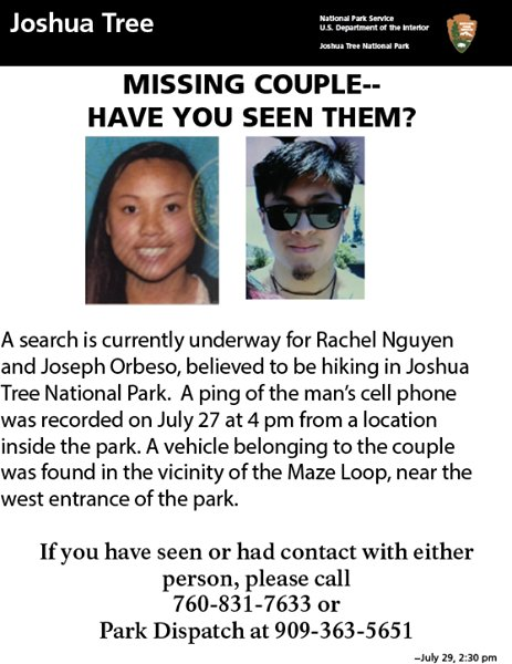 SpecialAgentNPS on Twitter \ - missing person flyer