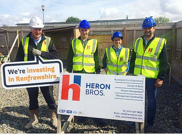 Social Media Heron Bros Ltd - building engineer job description