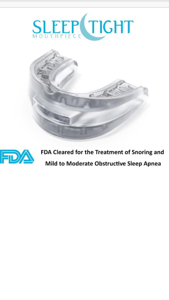 Sleep Tight Mouthpiece Eliminate Snoring Eliminatesnore Twitter