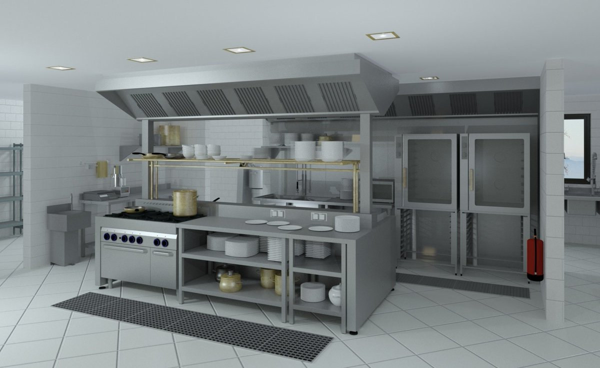Commercial Kitchen 3d Design Autodeccouk On Twitter