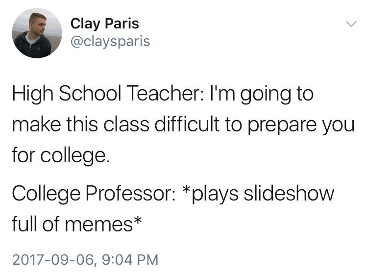 Shit Academics Say on Twitter \