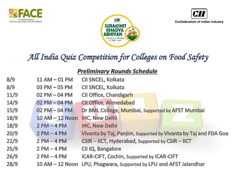 CII_SKA (@CII_SKA) Twitter - food safety quiz