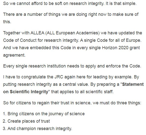ALLEA on Twitter \ - Code Of Conduct Example