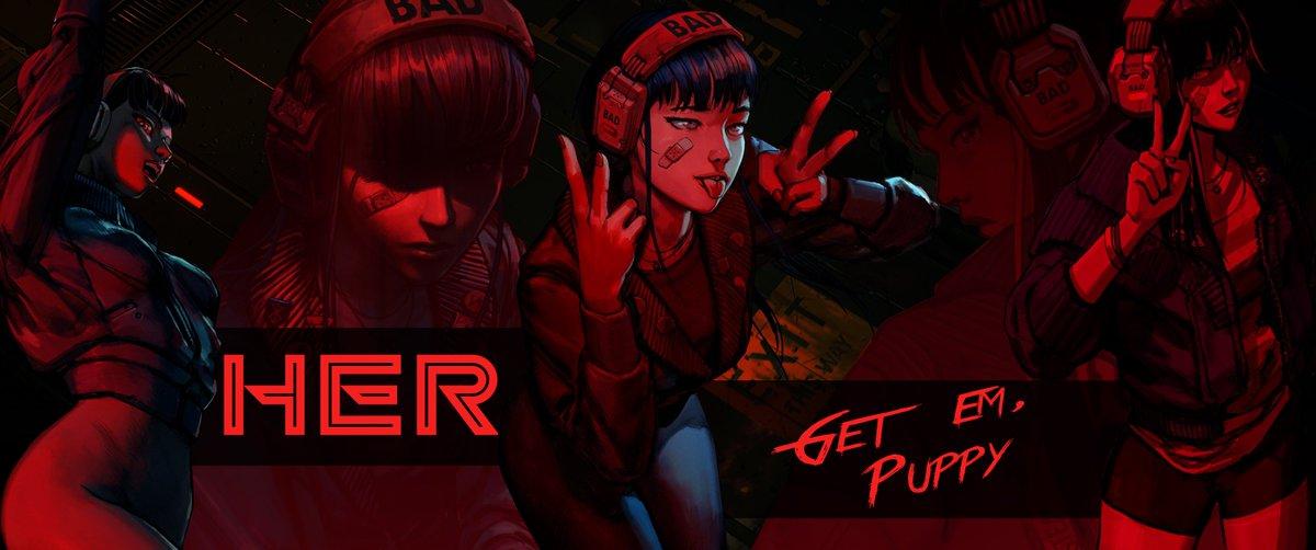 Wallpaper Love You Girl Ruiner Ruinergame Twitter