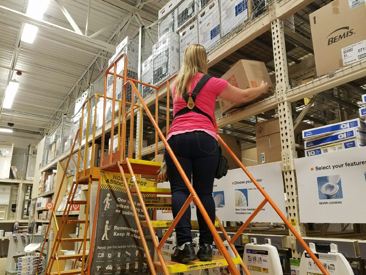 20' Ladder Home Depot Chuck Grab On Twitter