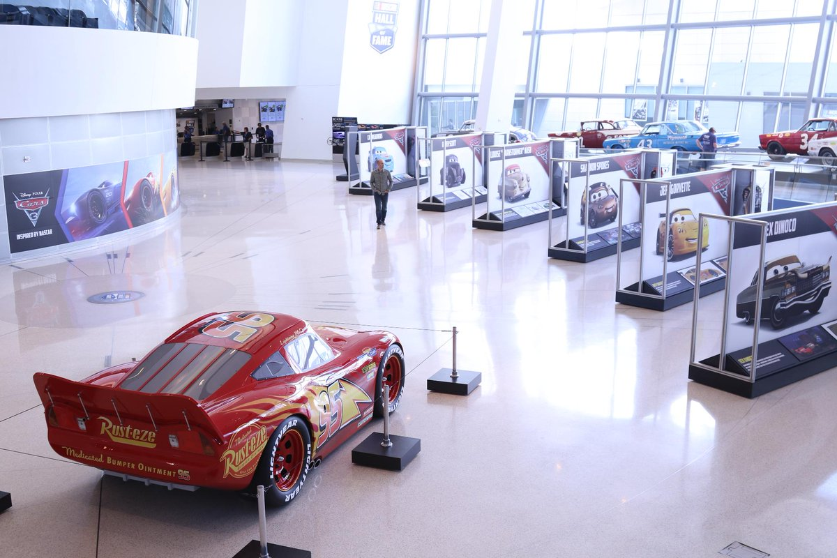 Garage Auto 95 Nascar Hall Of Fame On Twitter