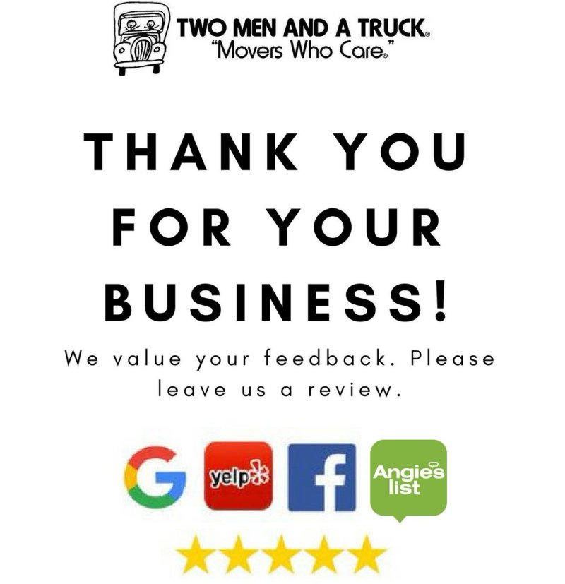 Large Of We Appreciate Your Business