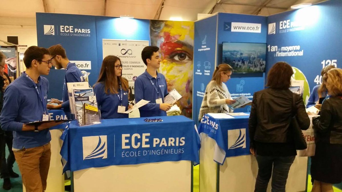 Salon De L Etudiant De Paris Ece Paris Lyon On Twitter