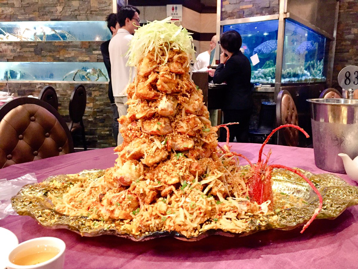 Impressive A Lobstermountain At Fishman Lobster Clubhouse Restaurant Tang Choy On Trip To Markham Culminating A Lobster Tang Choy On Trip To Markham Culminating curbed Fishman Lobster Clubhouse