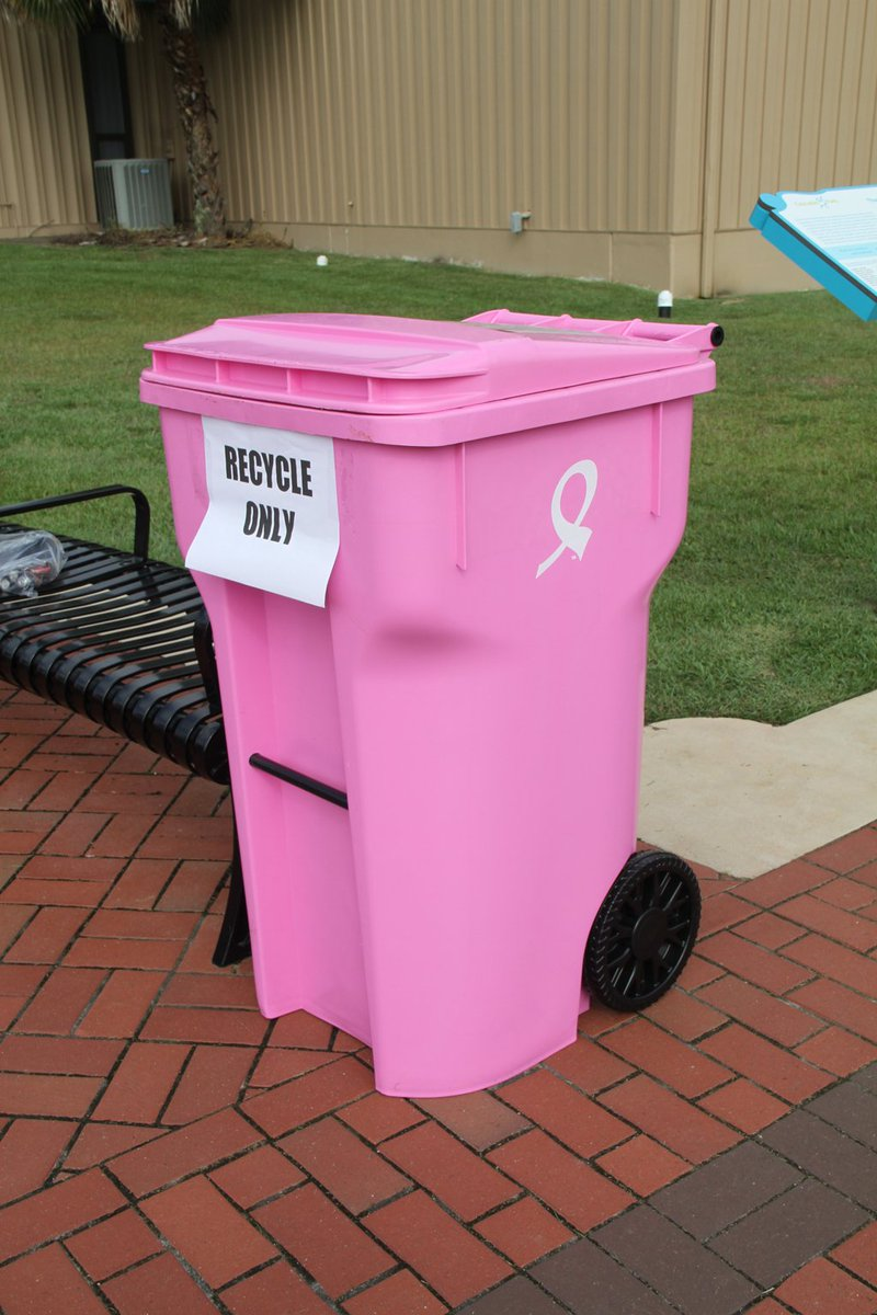 Pink Bins City Of Tallahassee On Twitter