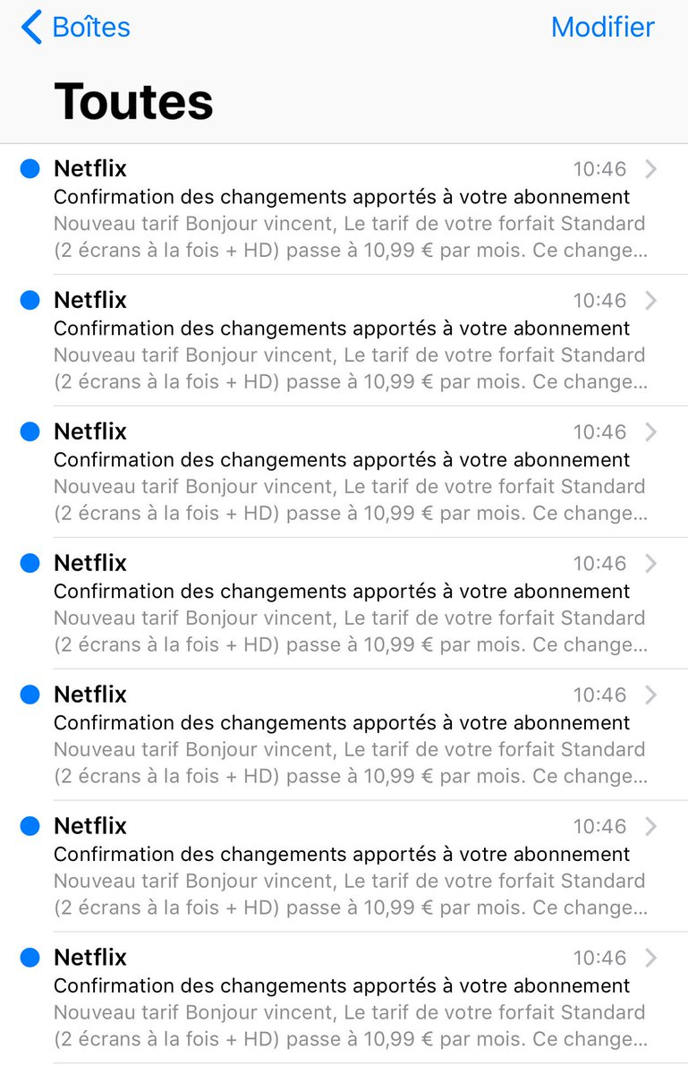 Tarif Forfait Netflix France On Twitter