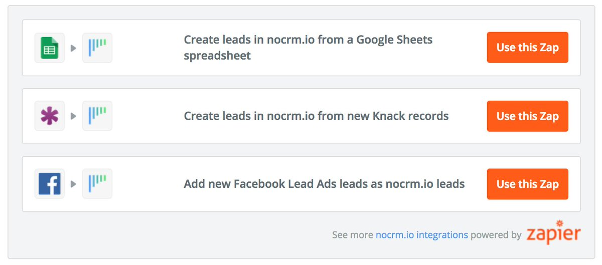 Zapier on Twitter \ - how to manage sales leads