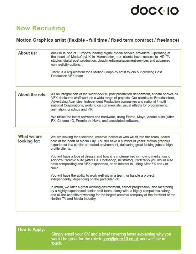 Vfx Resume Samples Download Vfx Resume Samples