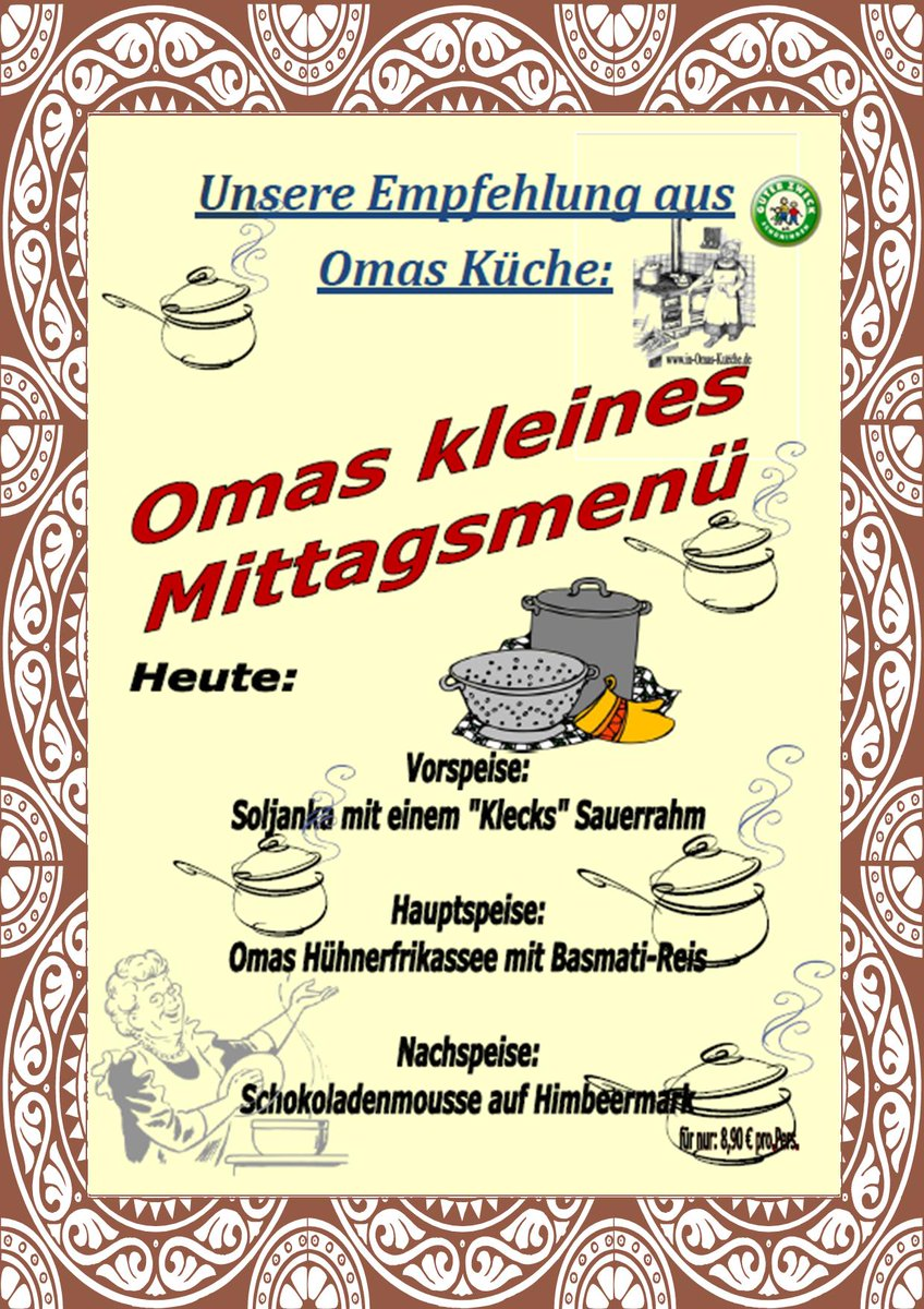 Wie In Omas Küche Omas Küche On Twitter
