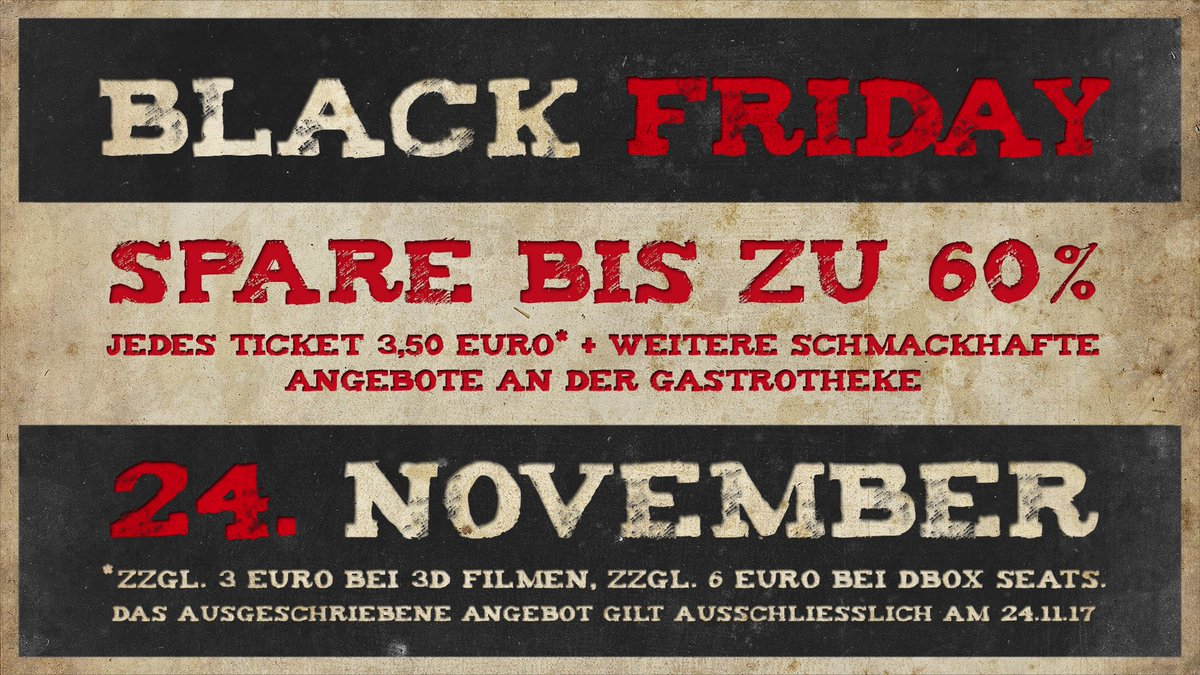 Black Friday Woche Cineplex Lörrach On Twitter