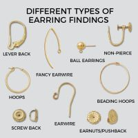 Earring Types Jewelry Nomenclature Gem Earrings