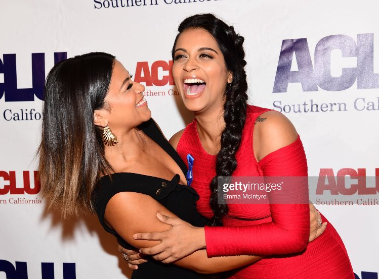 Iisuperwomanii Quotes Wallpaper Pop Crave On Twitter Quot Gina Rodriguez And Lilly Singh At