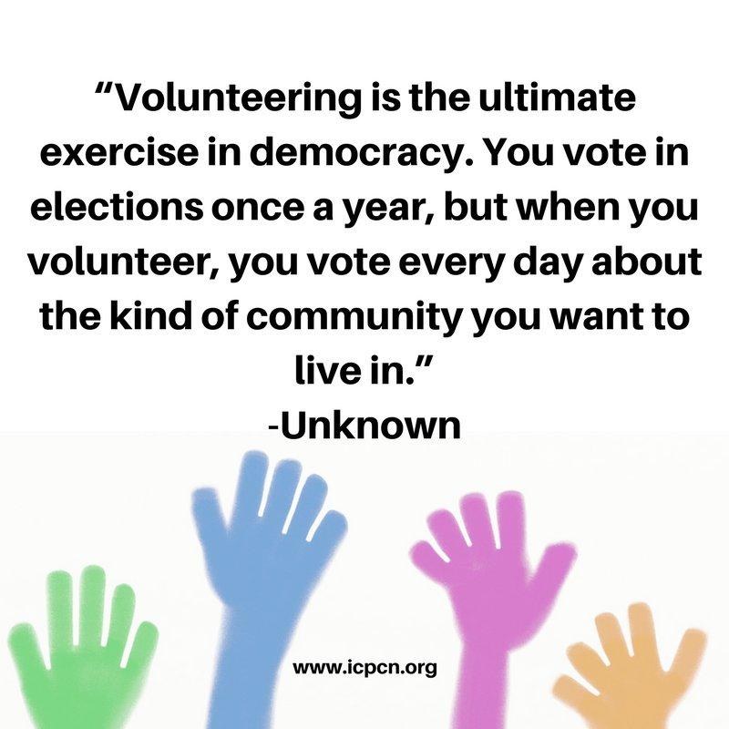 ICPCN on Twitter \ - volunteers around the world