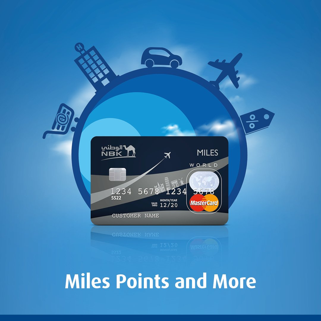 Miles And More Points National Bank Of Kuwait On Twitter