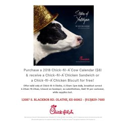 Small Crop Of Chick Fil A Cow Calendar