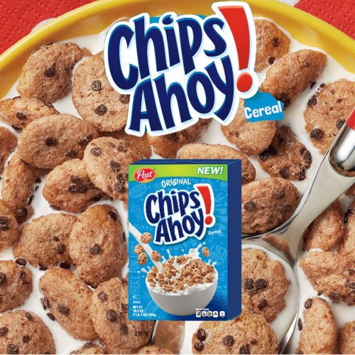 Medium Of Chips Ahoy Cereal