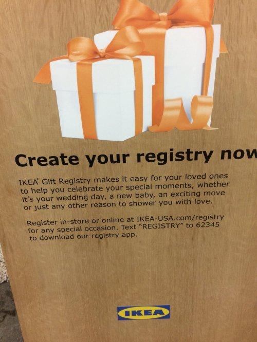 Medium Of Ikea Wedding Registry