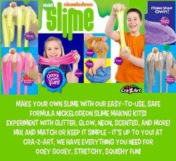 Small Of Nickelodeon Slime Recipe